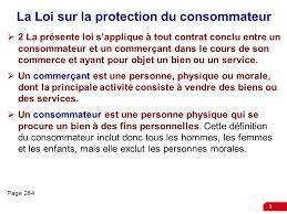 bureau protection du consommateur les affaires et le droit ppt télécharger