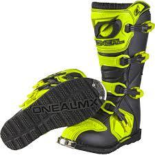 neon motocross gear oneal rider eu motocross boots mx off road dirt bike atv racing