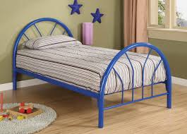 blue metal twin bed frame painting metal twin bed frame u2013 modern