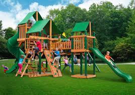 Wooden Swing Set Canopy by Backyard Wooden Swing Sets Online Discount