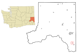 Washington State Printable Map by Colton Washington Wikipedia