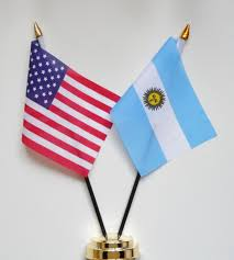 Argentina Flag Photo United States Of America U0026 Argentina Friendship Table Flag