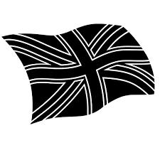 Flag Complex Union Jack United Kingdom Flag Stencil For Glitter Tattoos And