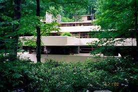 Frank Lloyd Wright Falling Water Interior House Over Falling Water 2689