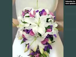 Orchid Bouquet White And Purple Orchids Bouquet Set Of Pictures White And