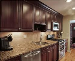 Awesome Kitchen Backsplash Ideas For Dark Cabinets Cheap Kitchen - Awesome kitchen ideas with dark cabinets home