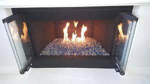 quarter inch reflective fireglass san diego chimney sweep
