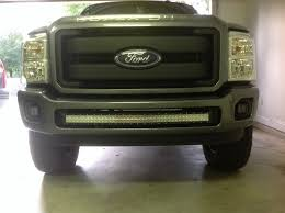 f250 led light bar f250 f350 light bar brackets for 40 inch curved light bar dirtydiesels
