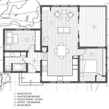 modern cabin floor plans one bedroom cabin floor plans contemporary photo on amazing small