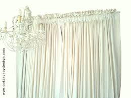Top And Bottom Rod Curtains Cottage By Design With Trish Banner Curtains