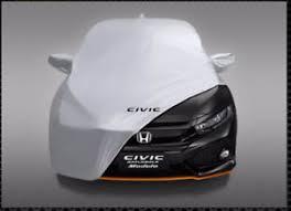 honda car cover genuine honda civic x fc 2017 5dr hatchback breathable