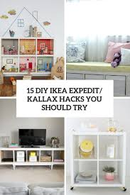15 diy ikea kallax shelves hacks you could attempt decor10 blog