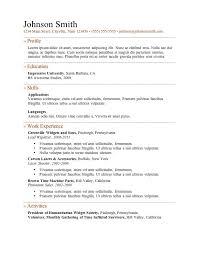 Microsoft Word Job Resume Template 11 Best Ladattavia Cv Pohjia Images On Pinterest Resume Ideas
