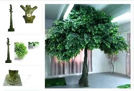 artificial trees for home decor artificial fig tree home decorating