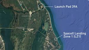 Florida Google Maps by News Spacex U0027s Dragon Launched From Historic Space Site Sunday