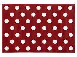 Rugs For Kids Rugs Mats Kit For Kids Red White Polka Dot Rug For Bedroom
