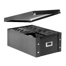 cd storage box case organizer dvd holder rack bin cd protection