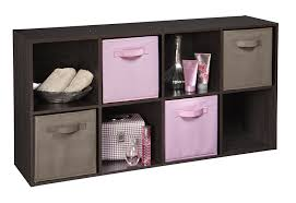 amazon com closetmaid 1468 cubeicals fabric drawers pink 2 pack