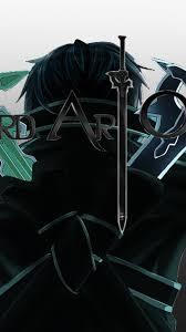 wallpaper android sao photo manipulation sword art online kirigaya kazuto wallpaper 76910