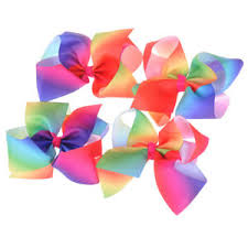 handmade hair bows 6inch hair bow butterfly rainbow hairpin hair clip handmade hair