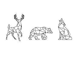 tattoo geometric outline geometrics outlines animal and tattoo
