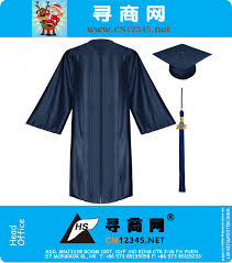 high school tassel high school graduation gown cap and tassel shiny navy blue na