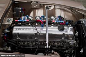 nissan maxima engine swap old dogs u0026 new tricks datsun z in 2 flavours speedhunters
