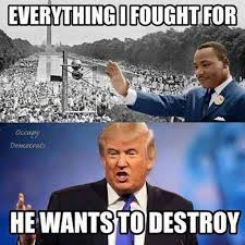 Mlk Memes - idiot trump idiot lib mlk trump meme is terrifying in it s