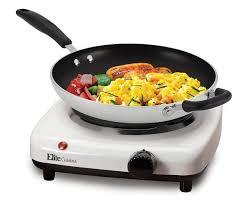 elite cuisine llc elite cuisine esb 301f maxi matic 1000 watt single buffet burner