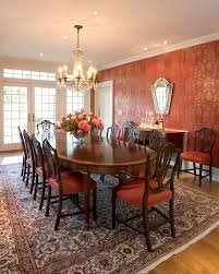 ChippendalechairsDiningRoomTraditionalwithceilingmedallion - Chippendale dining room