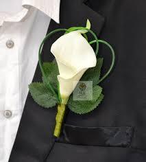 calla corsage top quality 5pcs lot custom made groom groomsman corsage