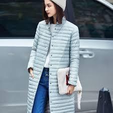 plus size light jacket ultra light down jacket women long puffer coats plus size winter