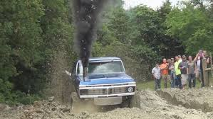 1977 Ford Truck Mudding - cummins powered ford aka