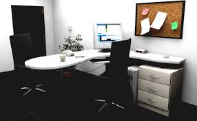 Modern Glass Office Desk by Home Office Desk Furniture Ideas For Custom Interior Design