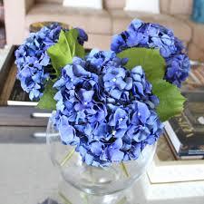 hydrangea bouquet blue hydrangea bouquet amaranthine blooms