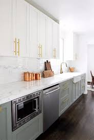 are two tone cabinets out of style get the two toned cabinets look creative tips photos