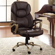 Blue Leather Executive Office Chair 10 Big U0026 Tall Office Chairs For Extra Large Comfort