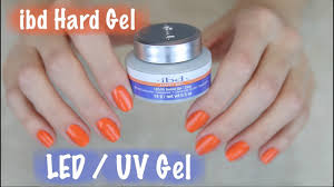 how to apply ibd hard gel on natural nails part 1 of 2 youtube