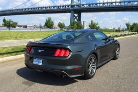 review of 2015 ford mustang review 2015 ford mustang 2 3l ecoboost