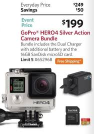 best black friday deals camera the best gopro deals on black friday 2016 u2013 filming family