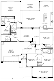 floor plan catalina new home in waters at ocotillo pulte