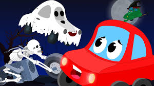 halloween night scary rhyme funny scary halloween video cars