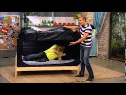 the privacy bed tent newest invention for a good night s sleep the living room hot or not privacy pop tent youtube