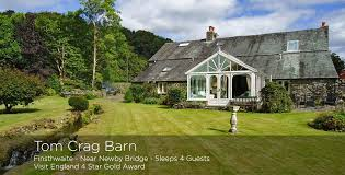 Tom Barn Tom Crag Barn Finsthwaite Lake Windermere Lakeland Cottage Company