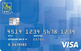 credit card categories rbc royal bank