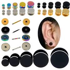 back earrings for men 12 best disc earrings for men in white gold images on