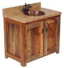 Rustic Bathroom Vanities For Vessel Sinks Having An Elegant And Nice Rustic Bathroom Vanities Hometutu Com