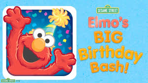elmo birthday sesame elmo s big birthday bash app preview