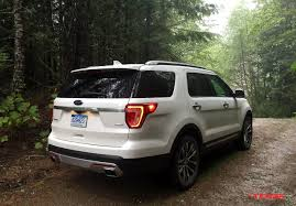 Ford Explorer 2016 Interior 2016 Ford Explorer Platinum Discovering The Great Outdoors Of