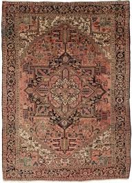 8 x 10 vintage persian heriz wool rug 11036 exclusive oriental rugs